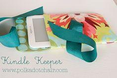 kindle/nook keeper #sewing, #gift, #secretpal