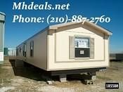 single wide repo mobile home Texas. Located near San Antonio Texas. This is a Used 3 bedroom mobile home.