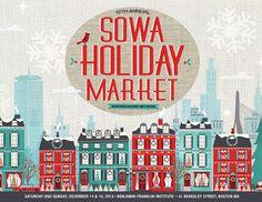 SOWA Holiday Market, Boston, MA