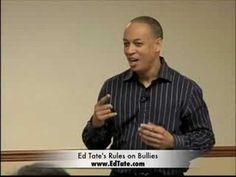 Ed Tate | 2000 World Champion of Public Speaking | How to deal with bullies