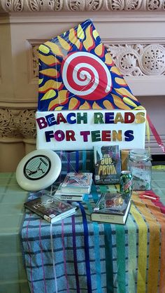 Beach Reads - library display