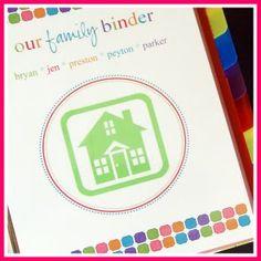 Household Binder- organizing family life