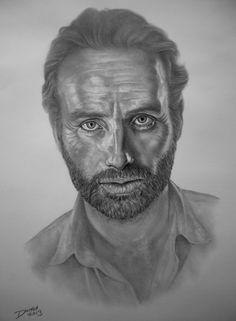 Rick Grimes, The Walking Dead, by Darrel Bevan