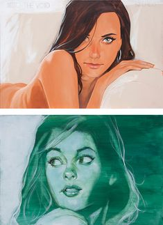 Awesome Illustrations by Phil Noto