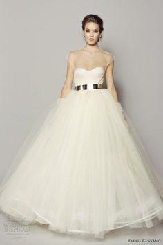 Rafael Cennamo Fall 2013 White Couture Collection