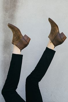 leather boots, ankle boots, ankl boot, brown boots, booties shoes