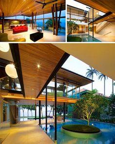 solar wood interior design