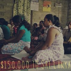 Today we sent $150,000 to our partner BRAC Sri Lanka. This will help reach nearly 800 more women, providing them access to microfinance #empowerment #microcredit #wholeplanet