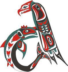 alaskan art on pinterest native art totems and orca art. Black Bedroom Furniture Sets. Home Design Ideas