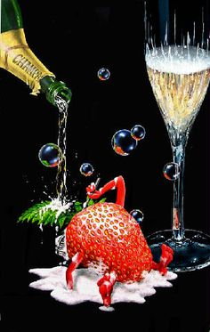 Bubble Bath by Michael Godard