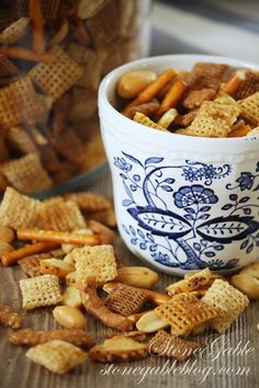 StoneGable: KICKED UP CHEX MIX