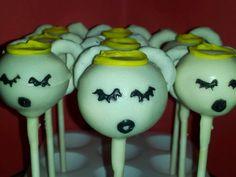 angelic cake pops!