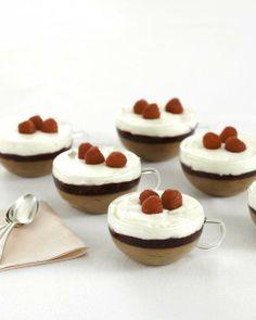 Raspberry Chocolate Parfaits Recipe