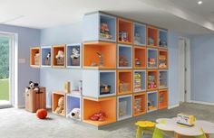 playroom storage, storage solutions, kid playroom, kid spaces, toy rooms, basement, kid rooms, toy storage, storage ideas