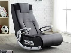 If your man cave is also your gaming den, the perfect add-on for it is the X Rocker II Wireless Video Game Chair.