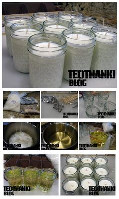 idea, stuff, crafti, candles, emerg, surviv, add scent, 50hour candl, diy