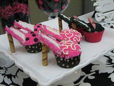 Young Women Inspiration: High Heel Cupcakes