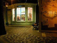 streets of old detroit inside the detroit historical museum #detroit #museum