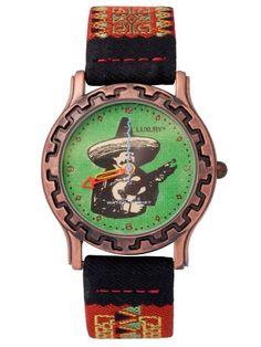 Luxury South West Wristwatch- Guitar Player