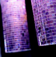gorgeous purple mosaics