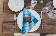indigo dyed napkins