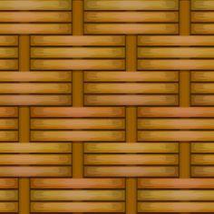 Wicker basket weaving pattern
