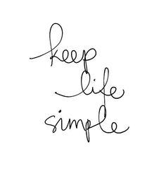 mai simpl, life simple, simpl life, vida simpl