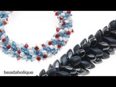 ▶ How to Braid Beaded Kumihimo with Long Magatama Beads - YouTube