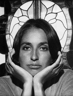 Joan Baez 1979 by Yousuf Karsh