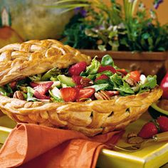 Strawberry-Chicken Salad - Quick & Delicious Summer Salad Recipes - Southern Living