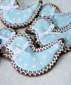Cookies decorated babyshower