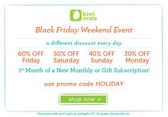Black Friday and Cyber Monday Deals!!