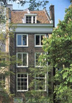 The Anne Frank House, in Amsterdam.
