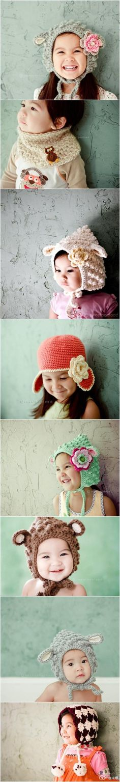 love this kids Crochet hats
