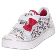 #ToddlerTuesday Keds Hello Kitty Toddler Shoes at Finish Line. Shop toddler shoes here: http://finl.co/NLbfs4 $43.99