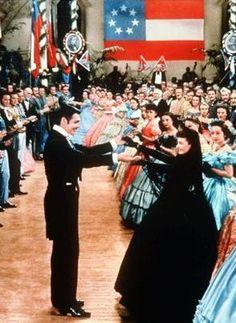 One of my favorite movie scenes ball, windvivian leighscarlett, clark gablerhett, gwtw, gablerhett butlerat, danc, clarks, vivien leigh, favorit movi