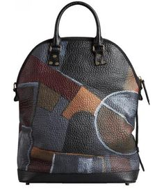 Burberry Ltd - Small St Ives - Hand-Painted Leather