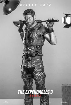 Kellan Lutz is John Smilee: Fearless fighter... extensive tattoos... pure badass. #EX3