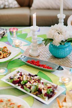 girls dinner // summer tapas party