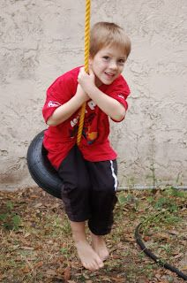 DIY Make your own Tire Swing