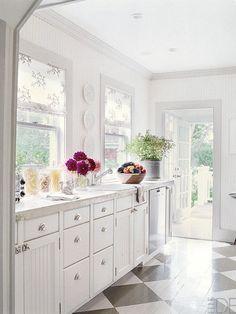Sunny kitchen
