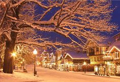 Leavenworth, Washington  The greatest light town!