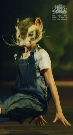 Birmingham Royal Ballet - 'Still Life' at the Penguin Café; Texas Kangaroo Rat; photo: Bill Cooper
