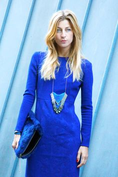 Regal in royal blue #streetstyle