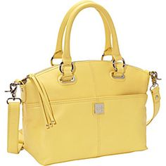 Piazza Lucca Satchel - Pale Yellow - via eBags.com!