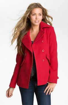 Lost Peacoat (Juniors) available at #Nordstrom