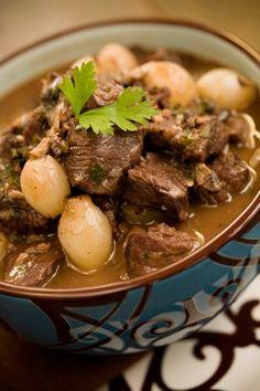 Sweet Merlot Beef Stew #pauladeen
