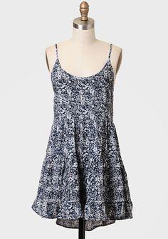 Petit Fleur Printed Dress