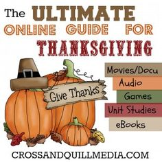The Ultimate Online Guide for Thanksgiving - Cross and Quill Media
