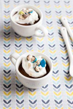 Malted Chocolate Pot De Creme